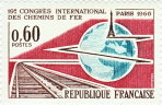 19ème congrès international des chemins de fer - Paris 1966